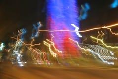 Abstracte achtergronden van lichte stromen Stock Foto
