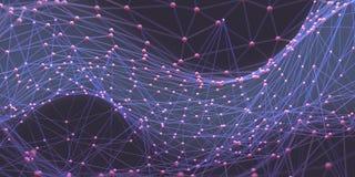 Abstracte Achtergrondwetenschapstechnologie Stock Afbeelding