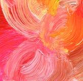 Abstracte acryl geschilderde achtergrond Royalty-vrije Stock Afbeelding
