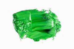 Abstracte acryl of olieverfkwaststreken stock fotografie