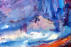 Abstracte acrylachtergrond Royalty-vrije Stock Afbeeldingen