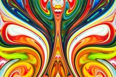Abstracte acrylachtergrond uitstekende stijl royalty-vrije stock foto