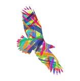 Abstracte adelaar royalty-vrije illustratie
