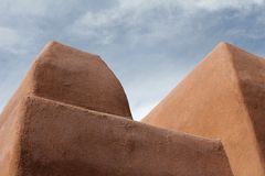 Abstracte adobestructuur Stock Afbeelding
