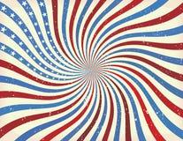 Abstracte Amerikaanse achtergrond Stock Afbeeldingen