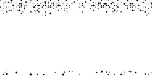 Abstracte animatie Verschijnen de halftinten zwarte punten en vallen onder de invloed van ernst op een witte achtergrond stock video