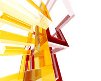 Abstracte Archi Structure002 Stock Afbeelding
