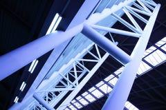 Abstracte architecturale bouw Stock Afbeeldingen