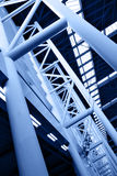 Abstracte architecturale bouw Stock Fotografie