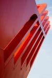 Abstracte architecturale bouw Royalty-vrije Stock Afbeelding
