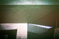Abstracte Architecturale Foto Royalty-vrije Stock Foto's