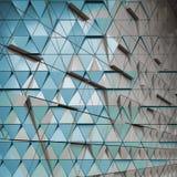 Abstracte architecturale illustratie Royalty-vrije Stock Afbeelding