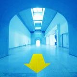 Abstracte architectuur Stock Afbeeldingen