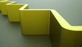 Abstracte architectuur teruggegeven structuur als achtergrond Stock Fotografie