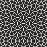 Abstracte art deco naadloze achtergrond Het geometrische Patroon van de Vissenschaal royalty-vrije illustratie