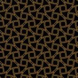 Abstracte art deco naadloze achtergrond Het geometrische Patroon van de Vissenschaal stock illustratie