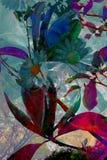 Abstracte artistieke achtergrond Royalty-vrije Stock Fotografie