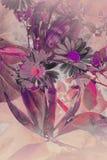Abstracte artistieke achtergrond Stock Afbeelding