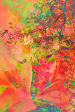 Abstracte artistieke achtergrond Royalty-vrije Stock Foto