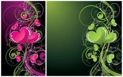 Abstracte artistieke achtergronden Stock Fotografie