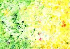 Abstracte artistieke waterverfachtergrond Royalty-vrije Stock Fotografie