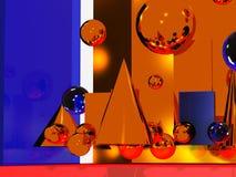 Abstracte Atmosfeer Stock Afbeelding
