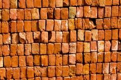Abstracte baksteenachtergrond Royalty-vrije Stock Afbeeldingen