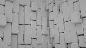 Abstracte baksteenachtergrond, 3 D geeft terug Stock Fotografie