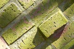 Abstracte baksteenoppervlakte Stock Fotografie