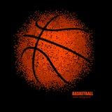 Abstracte bal voor basketbal Stock Fotografie