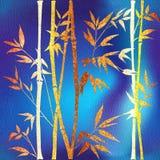 Abstracte bamboe bosachtergrond - Binnenlands behang - seamles royalty-vrije illustratie