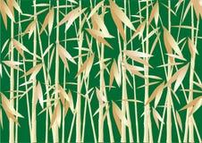 Abstracte bamboeachtergrond Stock Afbeelding