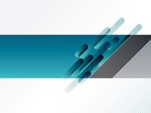 Abstracte banner Stock Afbeelding