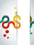 Abstracte banner Royalty-vrije Stock Foto's