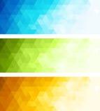 Abstracte banner Stock Fotografie
