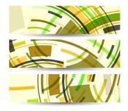 Abstracte banner voor uw ontwerp Stock Fotografie