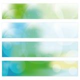 Abstracte bannerachtergrond Stock Afbeeldingen