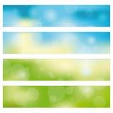 Abstracte bannerachtergrond Royalty-vrije Stock Fotografie