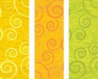 Abstracte banners Royalty-vrije Stock Fotografie