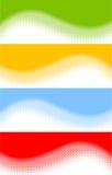 Abstracte banners royalty-vrije illustratie