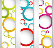 Abstracte banners Royalty-vrije Stock Foto's