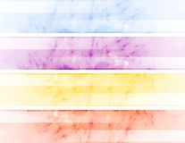 Abstracte banners Stock Fotografie
