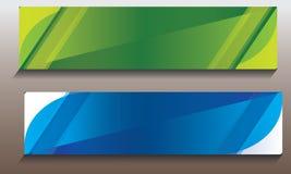 Abstracte Bedrijfs Nieuwe Banner Stock Afbeeldingen