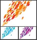 Abstracte Bedrijfsachtergrond Vector Illustratie