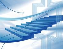 Abstracte bedrijfsachtergrond Stock Fotografie