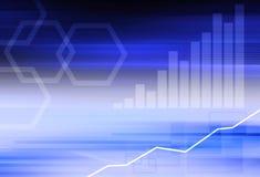 Abstracte bedrijfsachtergrond Stock Afbeeldingen