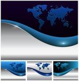 Abstracte bedrijfsachtergronden Stock Fotografie