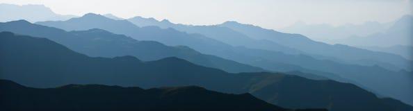 Abstracte bergketens Royalty-vrije Stock Afbeeldingen
