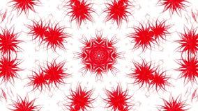 Abstracte bewegende achtergrond van rood 3d geef terug stock illustratie