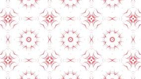 Abstracte bewegende achtergrond van rood 3d geef terug royalty-vrije illustratie